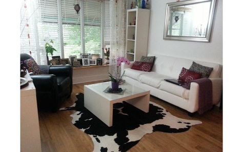 This Is A Brand New Brazilian Black And White Cowhide Rug All Our Cowhide Rugs Are Premium C Living Room Rugs Ikea Rugs In Living Room Cowhide Rug Dining Room