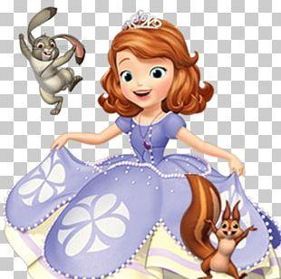 Princess Sofia Holding Rabbit transparent PNG - StickPNG