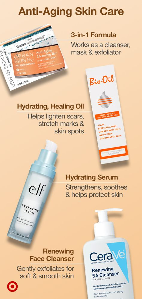 Renew your skin care routine with anti-aging products that hydrate  rejuvenate for healthy, younger-looking skin.