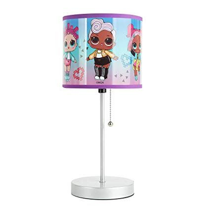 JoJo Unicorn Stick Table Lamp Pink
