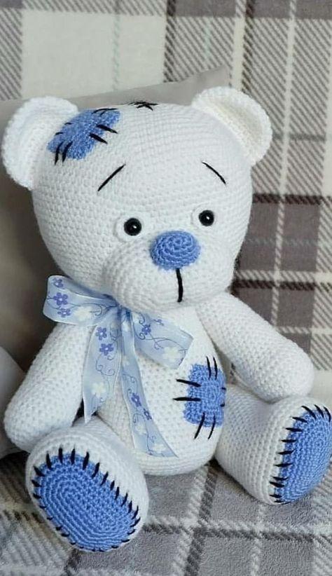 57+ New and Trend Amigurumi Bear Crochet Pattern Ideas Part 11
