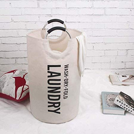Weltrxe Laundry Hamper Bag With Soft Handles Waterproof Laundry