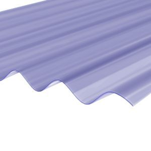 Clear Pvc Corrugated Roofing Sheet 2 5m X 950mm Corrugated Roofing
