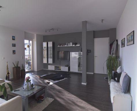 De 105 beste bildene om ideen für wohnzimmer gestalten på Pinterest - wohnzimmer in grau und braun