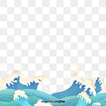 Blue Surf Sea Scenery Wave Png Transparent Clipart Image And Psd File For Free Download Sea Illustration Wave Clipart Clip Art
