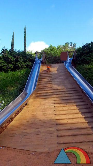 El Triángulo Arcoíris 6 Parques En Barcelona Y Alrededores Para Ir Con Niños Parques Juegos De Exterior Parque Para Niños