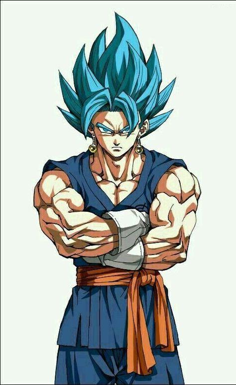 Vegeto Blue Coloriage Dragon Ball Personnages De Dragon Ball