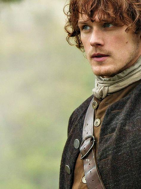 Sam Heughan as Jamie Fraser (Outlander) aka the man of my dreams