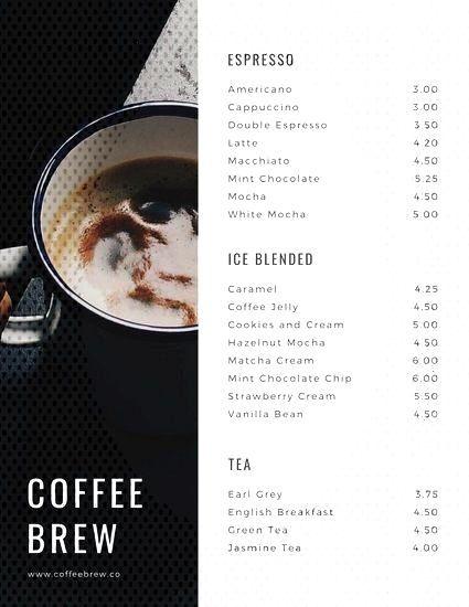 Templates Coffee Canva Mint Shop Menu By Mint Coffee Shop Menu Templates By Canvayou Can Find Menu Template Coffee Shop Menu Mint Coffee Coffee Jelly