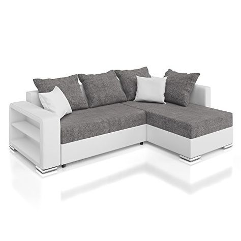 Schlafsofa ecksofa  Vicco-Sofa-Couch-Polsterecke-Houston-Ecksofa-Schlaffunktion ...