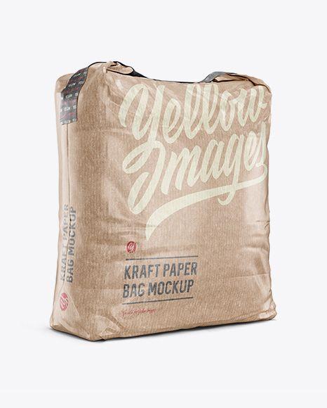 Download 5 Kg Kraft Paper Bag Mockup Halfside View In Bag Sack Mockups On Yellow Images Object Mockups Mockup Free Psd Bag Mockup Free Psd Mockups Templates