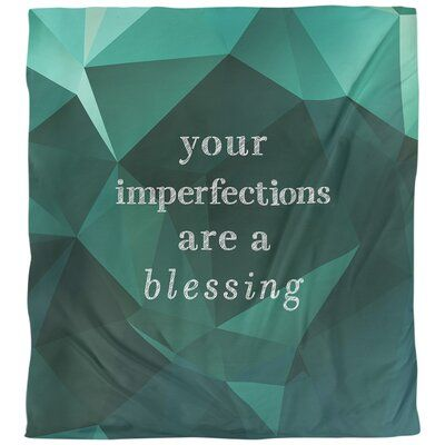 East Urban Home Quotes Faux Gemstone Imperfections Inspirational Single Reversible Duvet Cover Size Q In 2020 Single Duvet Cover Tough Times Quotes Love Wisdom Quotes