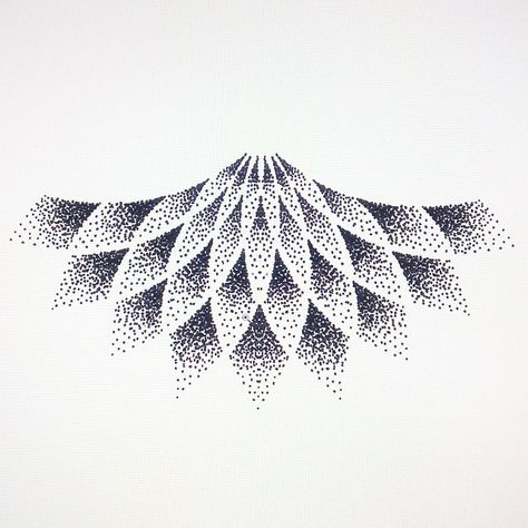 Under breast tattoo, stippled and simple.