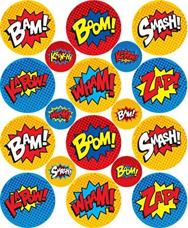 NEW 4 Sheets Pack FREE SHIPPING!! JUSTICE LEAGUE 96 Stickers Batman, etc