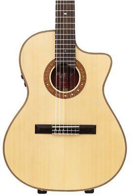 Martinez Mp 14 Rose Artist Natural Electric Classic Guitar Guitar Classic Guitar Acoustic