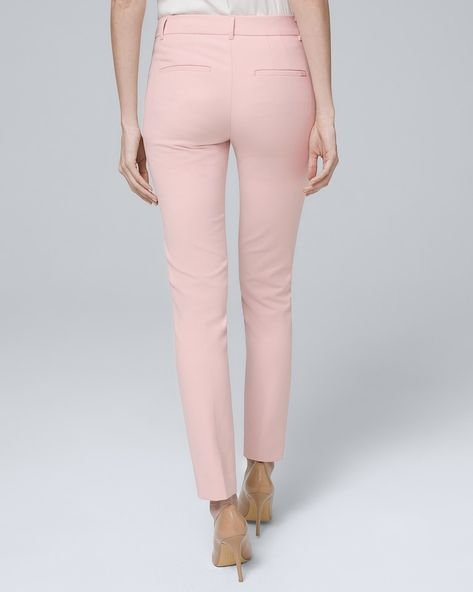 fc9cb118d1b9 $79.00 Modern-Fit Comfort Stretch Slim Ankle Pants - White House Black  Market