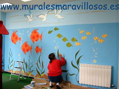 Decoracion De Murales Infantiles Beautiful Decoracin De Murales