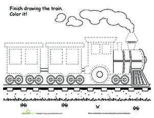 Train Worksheet For Kids Crafts And Worksheets For Preschool Toddler And Kinder Worksheets For Kids Math Activities Preschool Sequencing Activities Preschool