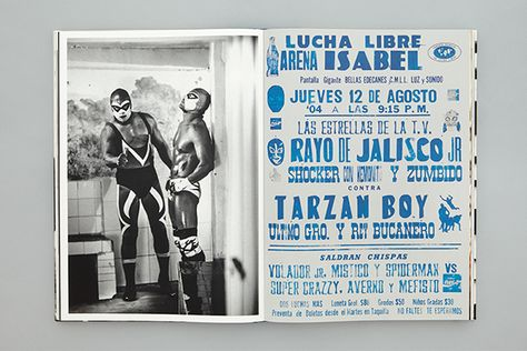 Lucha: A Tribute on Editorial Design Served