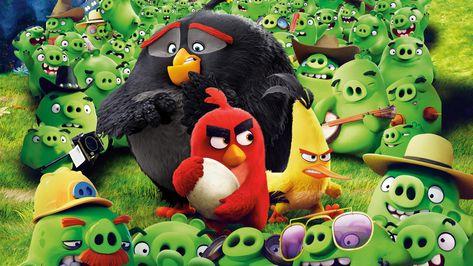 Wallpaper 4k Angry Birds Save The Egg 4k Wallpaper