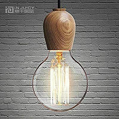 Edison Lustre Vintage Luminaires Suspensions Lampe E27 En Injuicy XZPkwuTOi