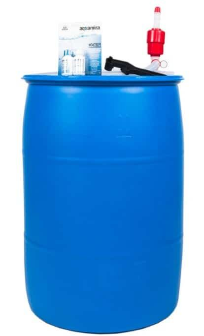 55 Gallon Drum Drinking Water Barrels For Emergency Storage 2020 Water Storage Tanks Water Storage Water Storage Containers
