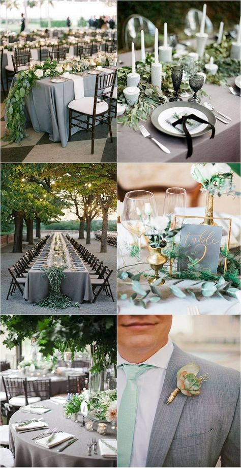 Timeless Grey Wedding ceremony Color Palette Ideas to Inspire weddingfoodideas goodtimes adore rusticwedding young man
