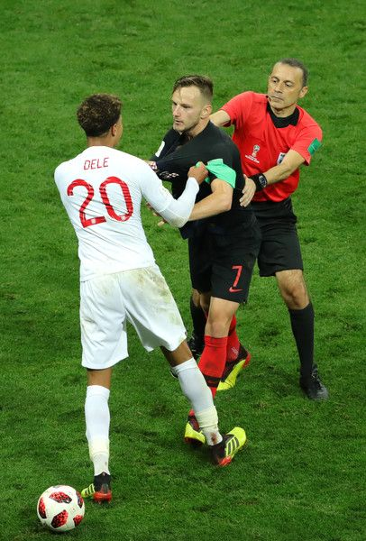 Dele Alli Photos Photos England Vs Croatia Semi Final 2018 Fifa World Cup Russia Dele Alli England Players Ivan Rakitic