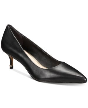Kenneth Cole New York Morgan Kitten Heel Pumps Women Shoes Kitten Heel Pumps Pumps Heels Black Pumps Heels