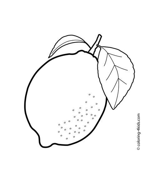Fruits Coloring Pages Crafts And Worksheets For Preschool Toddler And Kindergarten In 2020 Fruit Coloring Pages Coloring Pages Preschool Color Crafts