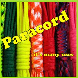 Paracord Ideas and many things you can do with it.