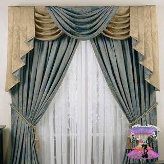 احدث كتالوج صور ستائر صالونات بتصميمات مودرن وكلاسيك 2020 Beautiful Curtains Curtains Window Curtain Designs