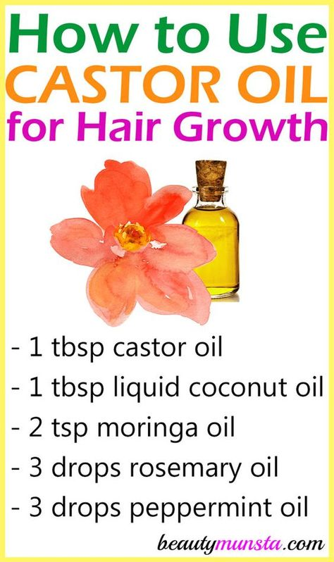 to Use Castor Oil for Hair Growth - The Easiest Way Learn how to use castor oil for hair growth using this powerful serum that I use every week!Learn how to use castor oil for hair growth using this powerful serum that I use every week! Castor Oil For Hair Growth, Oil For Hair Loss, Hair Growth Oil, Natural Hair Growth, Natural Hair Styles, Diy Hair Growth, Oil For Eyelash Growth, Healthy Hair Tips, Healthy Hair Growth