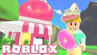Opening A Donut Shop! Roblox: - Adopt Me! - DONUT SHOP