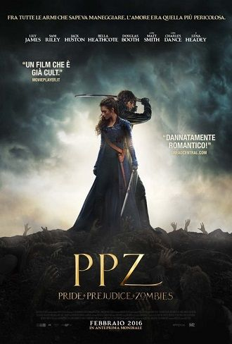 Ppz Pride Prejudice Zombies Hd 2016 Film Lily James