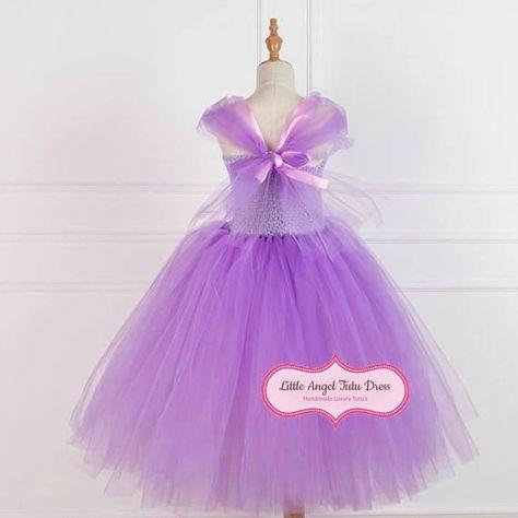 Photo of Verworrenen Rapunzel Fancy Dress – verworrenen Blume – handgefertigte Prinzessin Kleid – Geburtstag
