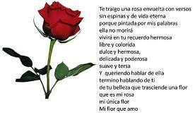 Imágenes De Rosas Con Frases Cortas De Amor Poema Cortos