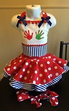 National Pageant Back To School  Casual Wear  Size 3-5t