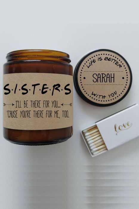 30 Unique Gifts For The Best Sister Ever With Images Christmas