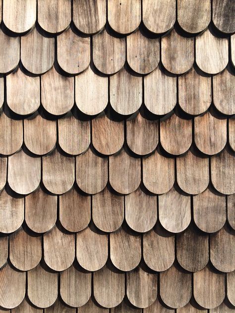 Textures Texture seamless | Wood shingle roof texture