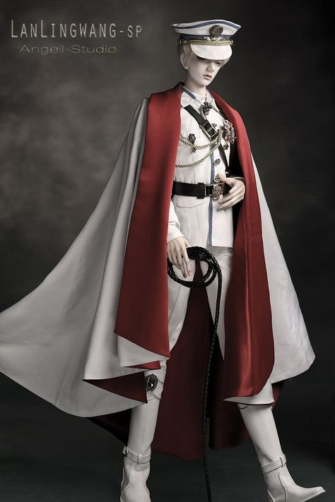 King LanLing SP-Military uniform,glorious Source by Cosplay Outfits, Anime Outfits, Fashion Outfits, Male Clothes, Poupées Barbie Collector, Character Outfits, Lolita Dress, Ball Jointed Dolls, Lolita Fashion