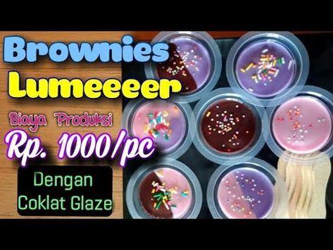Resep Brownies Cup Kukus Lumer Tahan Lama Suhu Ruang Ide Usaha Jualan Kue Youtube Oreo Pudding Ide Bisnis Rumahan Resep Makanan Beku