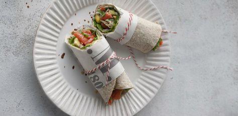 Recept van de week: Wrap met avocadomangosalsa en zalm - VIVA - Niets te verbergen
