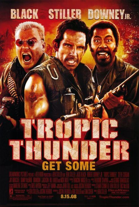 Tropic Thunder 27x40 Movie Poster (2008)