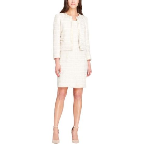Tahari ASL Womens 2PC Boucle Dress Suit | Womens dress suits