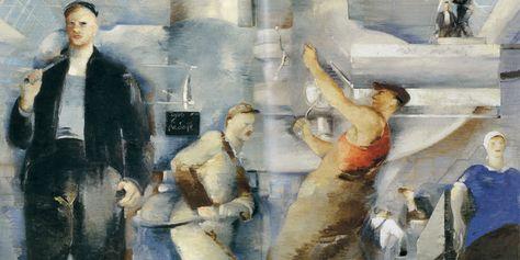 Петр Вильямс. Монтаж цеха. 1932   Художники, Искусство и ...