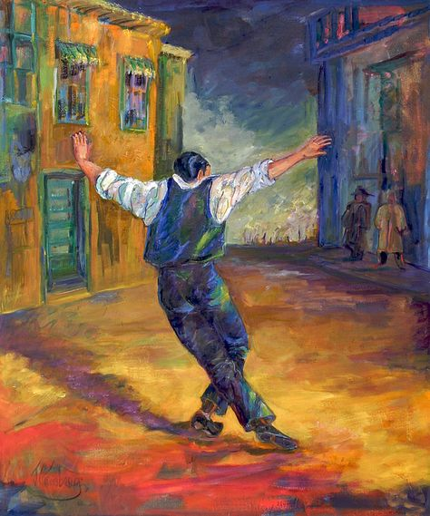 Greek Dancer by Jean Groberg
