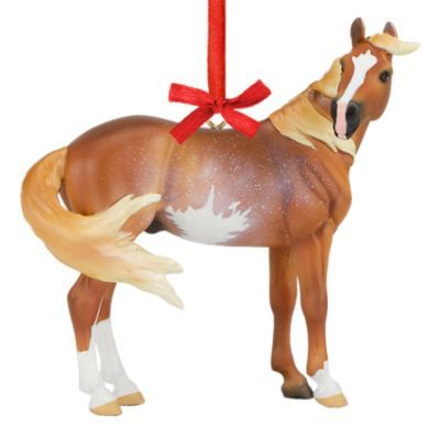 Tractor Supply Christmas Decor 2020 Breyer 2020 Holiday Ornament   Beautiful Breeds Mustang, 700521 at