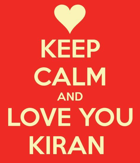 I Love You Kiran Mini Heart Tin Gift For I Heart Kiran With Chocolates or Mints