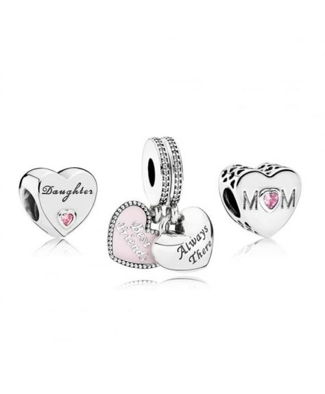 ae39bad9f Clearance PANDORA Mother Daughter Best Friends Charm Set - $15.89 Pandora  Gift Set